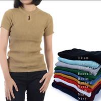 atasan wanita modis roundhand bolda sweater baju rajut cewe blouse