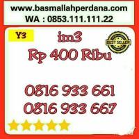 Nomor Cantik im3 10 Digit seri AABB 3366 0816 9 33 66 1 rapih Y5 387