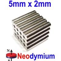 N52 Magnet 5x2 Super Strong Neodymium Sangat Kuat 5x2mm