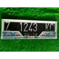 Variasi Dudukan Plat Nomor Mobil Doraemon