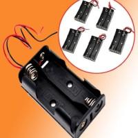 2x AA Battery Holder Baterai Case Batere Kotak Batre BA-139-2AA