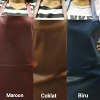 Apron / Celemek PVC (Syintethic Leather) Kulit Sintesis Berkualitas