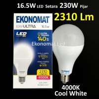 Lampu LED Ekonomat ULTRA 2310 Lm 16,5W 4000K Cool White Bohlam