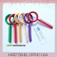 American orthodontics power o AO . Karet behel motif power o premium