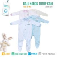 SLEEPSUIT JUMPER TUTUP KAKI SALUR (ISI 2PCS) - KDSK S-M-L