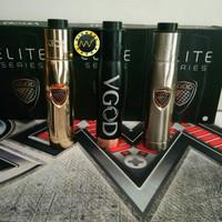 Vape Mechanical / Vaporizer Vgod Elite Mech Rokok Elektrik Full kit