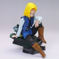 Banpresto Colosseum Dragon Ball Z Scultures 3 Android 18 Figure