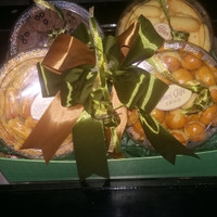 Paket parcel/hampers ramadhan n lebaran isi 4 kuker