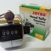 Hand Tally Counter joyko HC 4 D/ alat hitung body 4 digit BESI