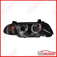 HEADLAMP - BMW E46 1999-2001 - EAGLEEYES - ANGEL EYES - WITH CORNER