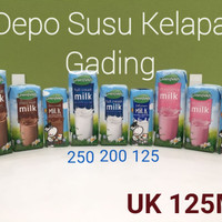 Susu Greenfields UHT 125 ml X 40pcs Coklat/strawberry/plain Greenfield