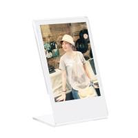 Fujifilm Kamera Instax Mini Acrylic Frame Album Transparant L Shape