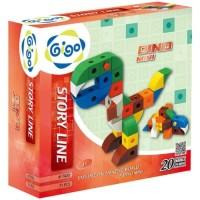 Gigo Dinosaurus Mini Educational Toys 3 Mainan Edukasi Laki Laki