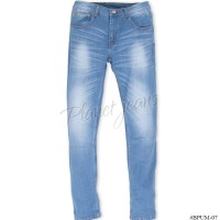 BPUM07- Celana Jeans Skinny Big Size / Ukuran Jumbo Pria Model Pensil