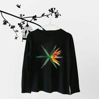 Kaos Lengan Panjang EXO The War Of Ko Ko Bop T-Shirt Tumblr Tee Wanita