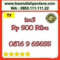 Nomor Cantik im3 10 Digit seri ABAB 6565 0816 9 65 65 5 rapih Y5 502