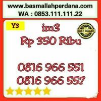 Nomor Cantik im3 10 Digit seri AABB 6655 0816 9 66 55 1 rapih Y5 428