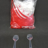 Sendok Puding sekop plastik isi 100 pcs