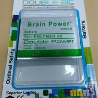 Baterai Himax Polymer 2X / Brain Power / Ori / Double power / batre hp