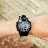 Murah - Skmei 1251 Jam Tangan Pria LED Wateresistant 50M Original - Hitam