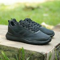 Sepatu Sneaker Adidas Cloudfoam Super Race Original Running keren