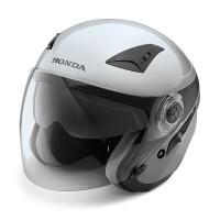 Helm Honda PCX Silver Double Visor