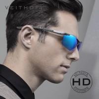 Veithdia kaca mata pria sunglasses polarized magnesium original