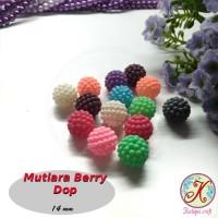 Mutiara Berry / Mutiara Jeruk Warna Dop per lusin