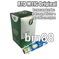 Headlamp Led RTD M11G - Lampu Utama 2 Sisi M5 / H6
