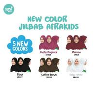 Afrakids Jilbab Anak Instan Premium Size S, M, L dan XL - Putih