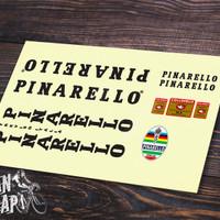 Stiker & Decal Frame Sepeda Pinarello Vintage