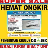 UK 80cm 1/2 pk Talang AC/AC Reflektor/AC Shield/Penahan Angin AC