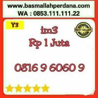 Nomor Cantik im3 10 Digit seri ABAB 6060 0816 9 60 60 9 rapih Y5 577