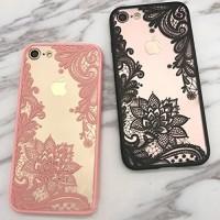 Sexy Slim Fit Medium Soft Hard Case Casing iPhone 6 6S 7 8 X Plus