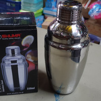 Cocktail Shaker - Pengocok/Kocokan Minuman/Wine/Bubble 350cc SHUMA