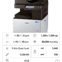 Mesin Print-Fotocopy Warna SAMSUNG X3280