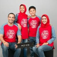 Kaos Couple Keluarga Baju Muslim Bunda size S-XXL Terlaris