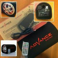 Speaker Advance T101BT Bluetooth Speker Tabung 5