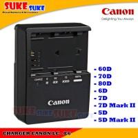 Charger Canon LC-E6 For Baterai Canon LP-E6 Eos 60D 70D 80D 6D 7D 7D M