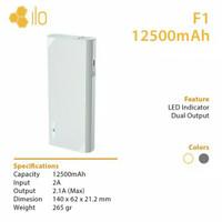 Hippo Powerbank ilo F1 12.500mah Real Capacity 100% ORIGINAL (Promo)