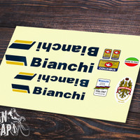 Stiker Decal Frame Sepeda Bianchi Nuovo