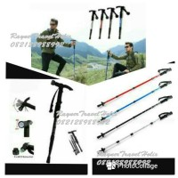 Trekking Pole, Tongkat Hiking, Tongkat Mendaki, Tenda Gunung, Outdoor