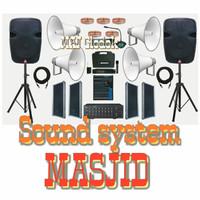 Paket Sound system Masjid (Toa,Yamaha,MOSPRO)