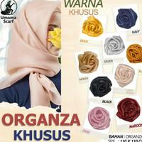 Hijab organza umma scraf