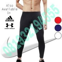 Celana Panjang Manset Olahraga Sport Renang Running Pria Nike Adidas