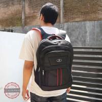 Ecer Grosir Tas Ransel Punggung Backpack Elite Polo Mikro Hitam Bagus