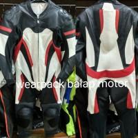 Wearpack Balap Alpinestar Full Kulit Asli Outwear Motor