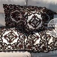 set sarung bantal sofa 40x40 dubay