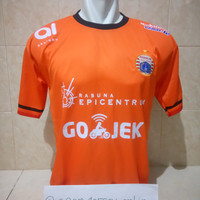 Jersey Persija Jakarta Home 2018 Orange Liga 1 Gojek Terbaru Lokal