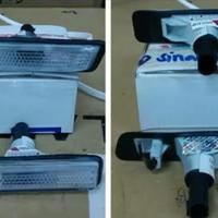 Sidelamp/Sein Fender BMW E36 Clear Glass Model Facelift Merk Depo